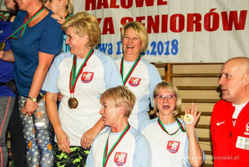 Halowe Igrzyska Seniorów 2018 we Włodawie