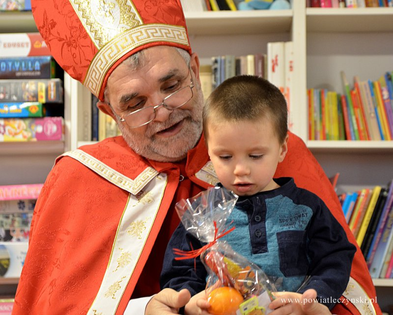 Święty Mikołaj w Placówce Opiekuńczo-Wychowawczej