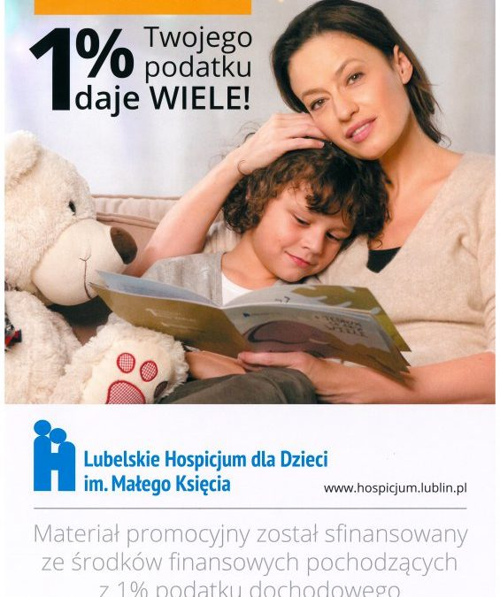 1% dla Hospicjum dla Dzieci im. Małego Księcia