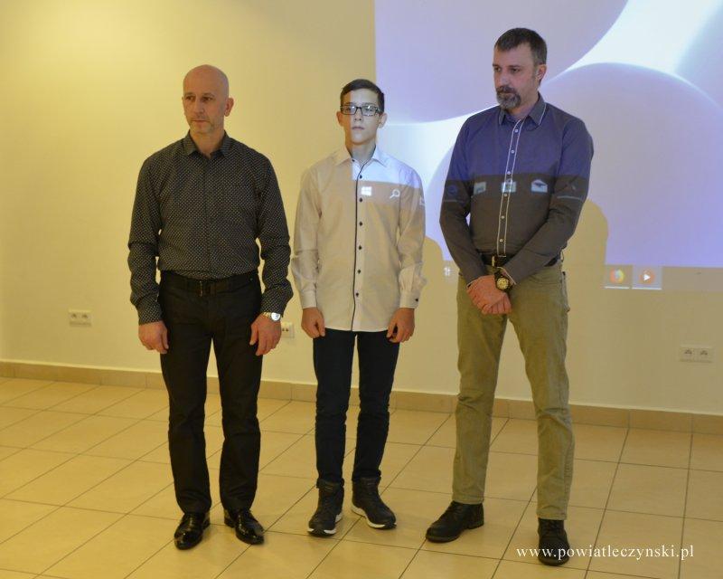 Nagroda sportowa Powiatu Łęczyńskiego wręczona