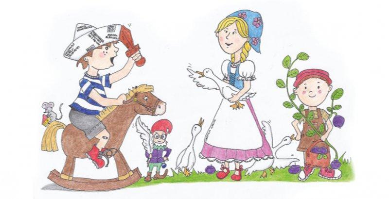 """Pierwszy dzień wiosny """"W krainie dziecięcej fantazji"""""""