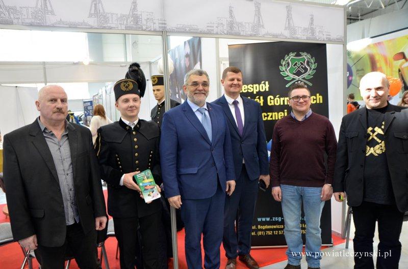 Targi Edukacyjne w Lublinie z udziałem szkół Powiatu Łęczyńskiego
