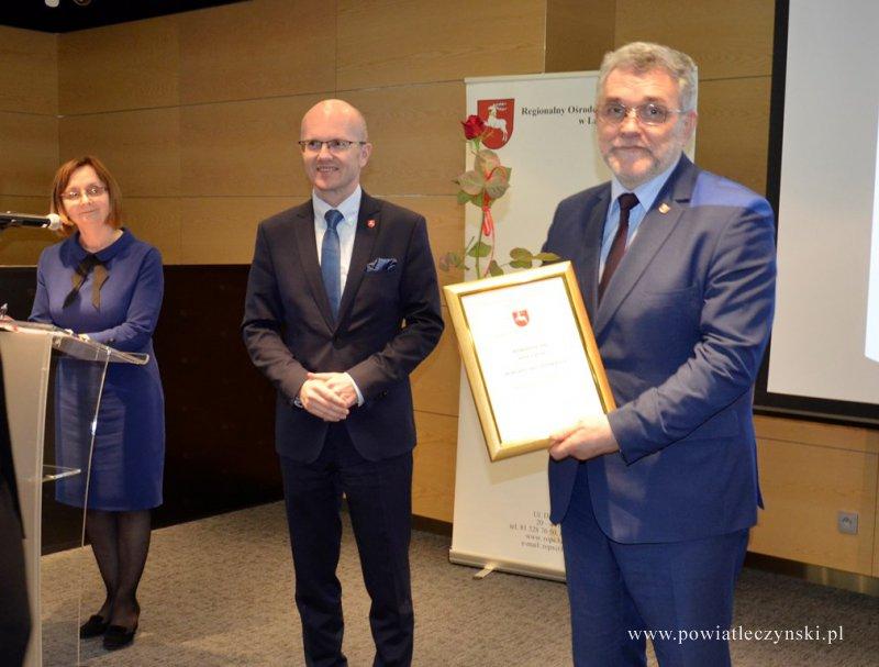 Specjalne wyróżnienie dla Powiatu Łęczyńskiego