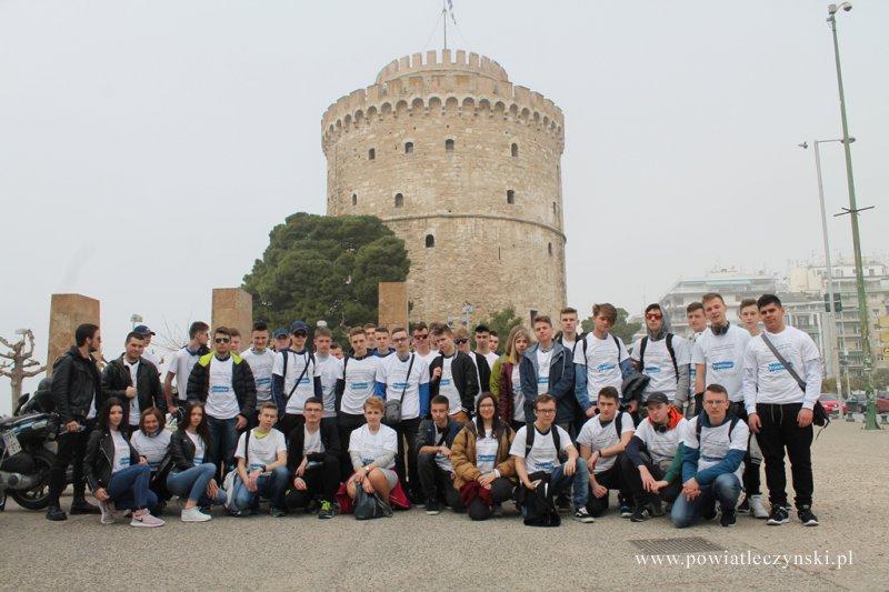 """Greckie praktyki uczniów """"Jagiellończyka"""" z Erasmusem"""
