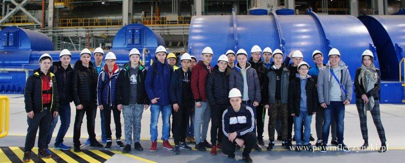 Zespół Szkół Górniczych z wizytą w Elektrowni Kozienice