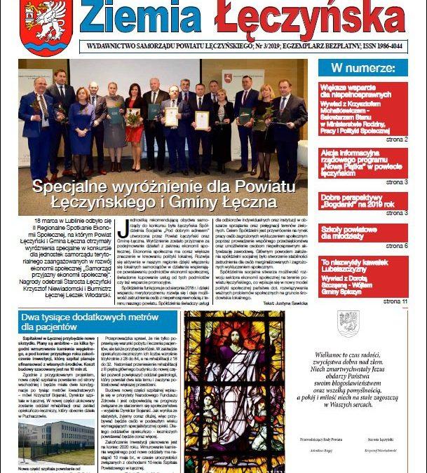 Ziemia Łęczyńska 3/2019 – zapraszamy do lektury