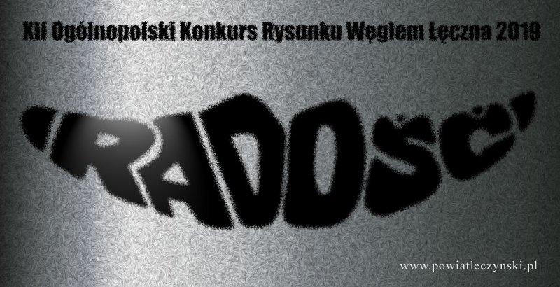 XII Ogólnopolski Konkurs Rysunku Węglem Łęczna 2019