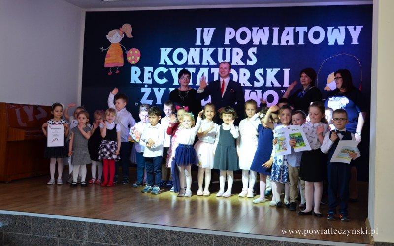 """IV Powiatowy Konkurs Recytatorski """"Żyję Zdrowo"""""""