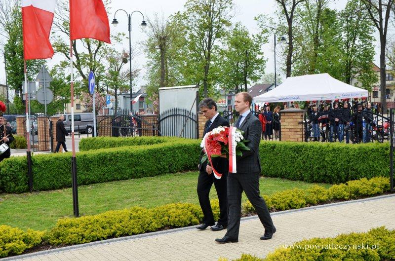 Obchody Święta Narodowego Trzeciego Maja w Łęcznej