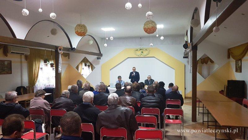 Spotkanie informacyjne na temat programów rządowych w Cycowie