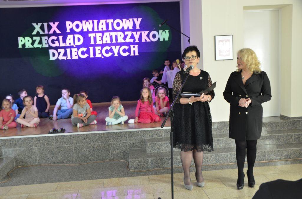 XIX Powiatowy Przegląd Teatrzyków Dziecięcych – Puchaczów 2019