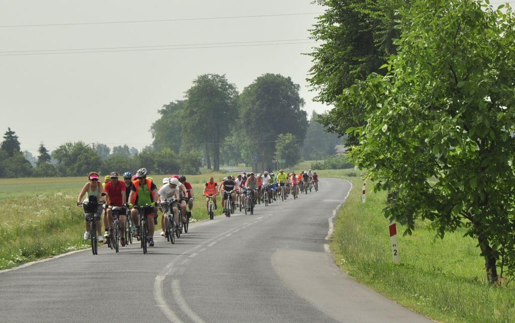 Upał nie przestraszył rowerzystów