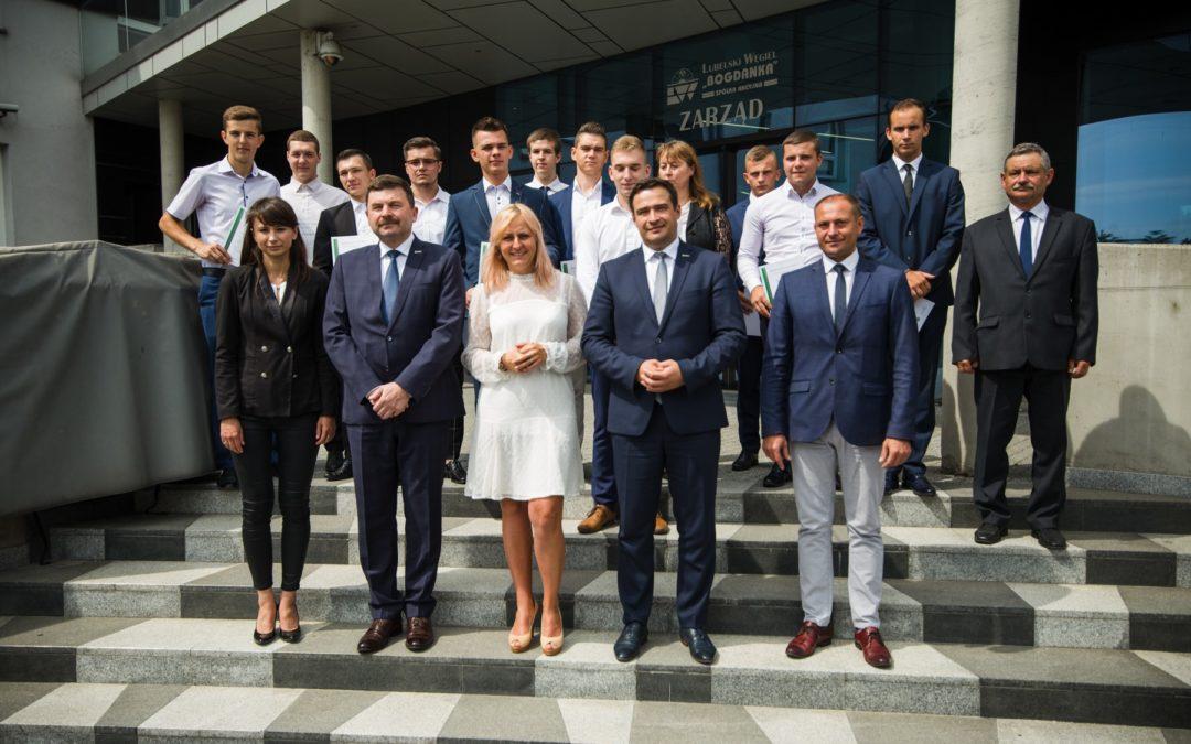 Dobre wyniki w nauce kluczem do pracy w LW Bogdanka