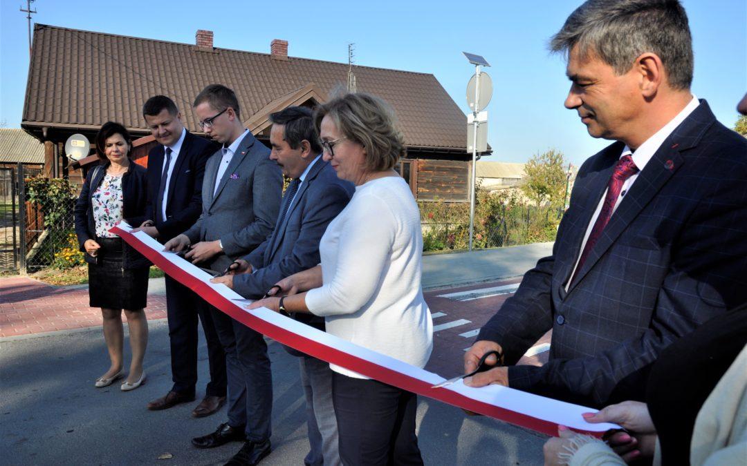 Otwarcie drogi Kopina-Zaróbka