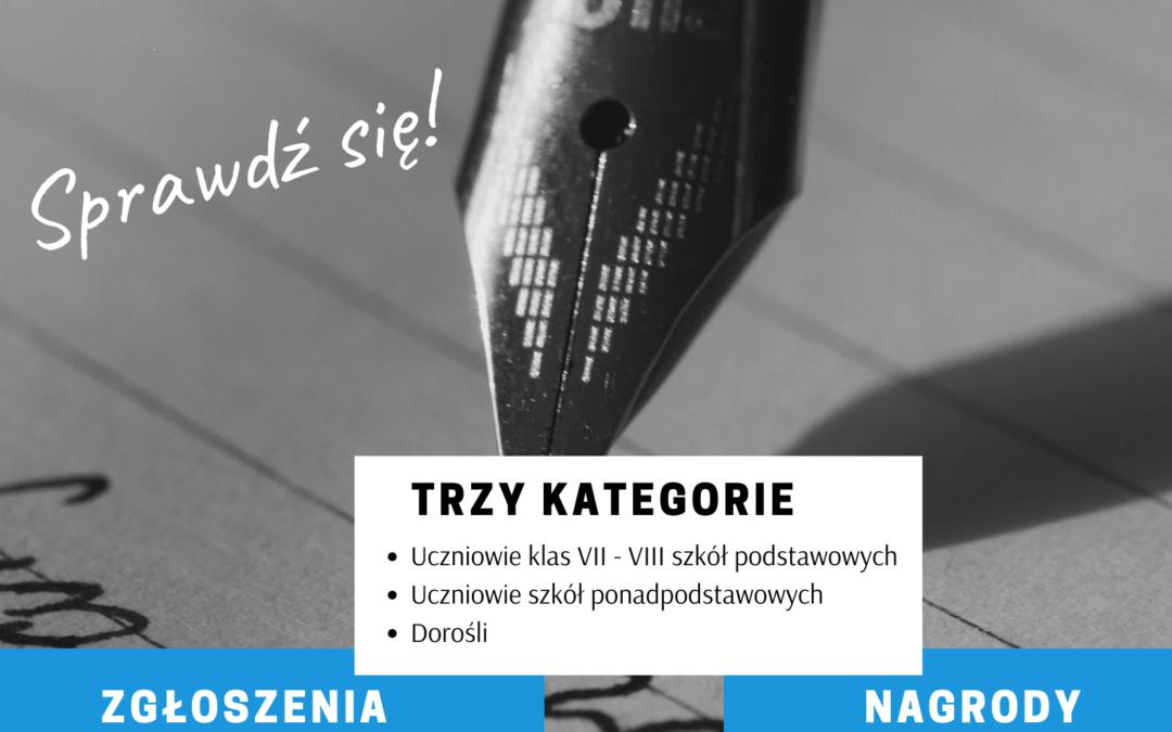 I Powiatowe Dyktando im. prof. Walerego Pisarka