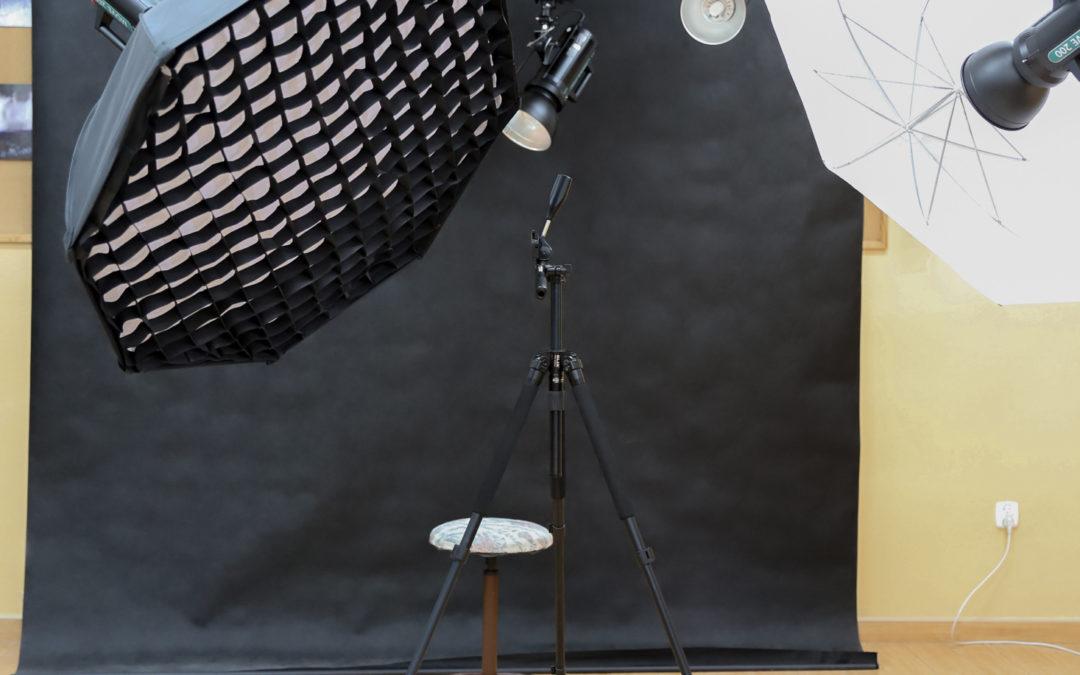 Nowe wyposażenie studia fotograficznego