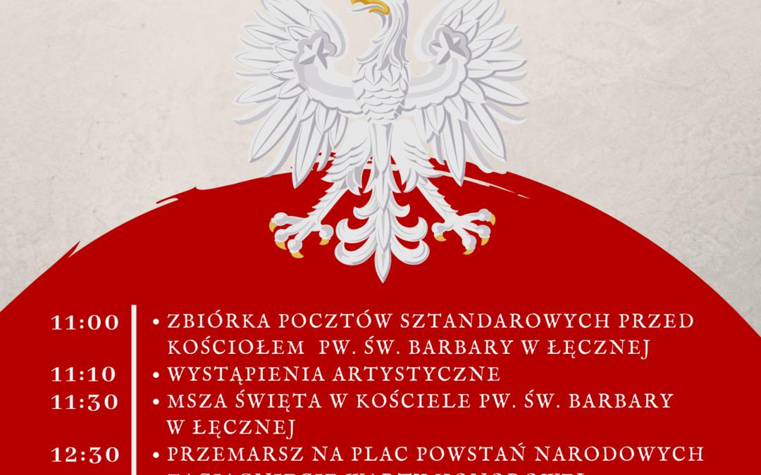 Obchody Narodowego Święta Niepodległości w powiecie łęczyńskim