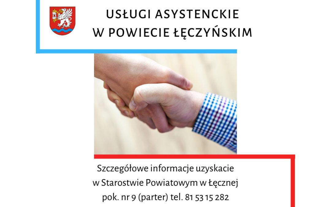 Ruszają usługi asystenckie w powiecie!!!