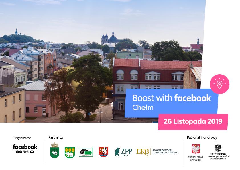 Boost with Facebook- Facebook szkoli lokalne przedsiębiorstwa