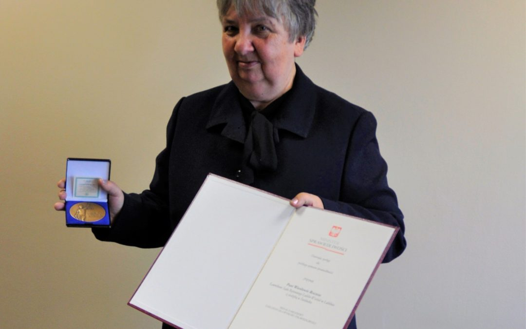 Nagroda Ministra Sprawiedliwości dla naszej ławniczki