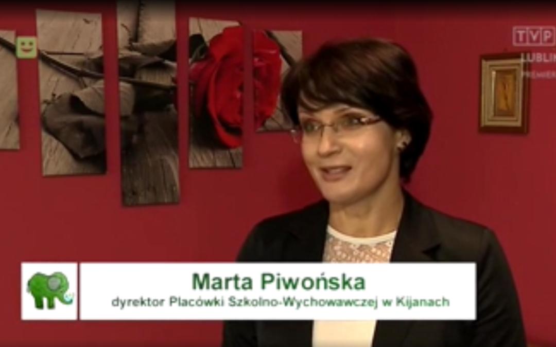 """""""Słonik Nadziei"""" w Placówce Opiekuńczo-Wychowawczej w Kijanach"""