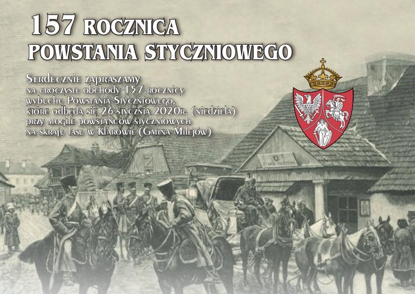 157. rocznica wybuchu Powstania Styczniowego