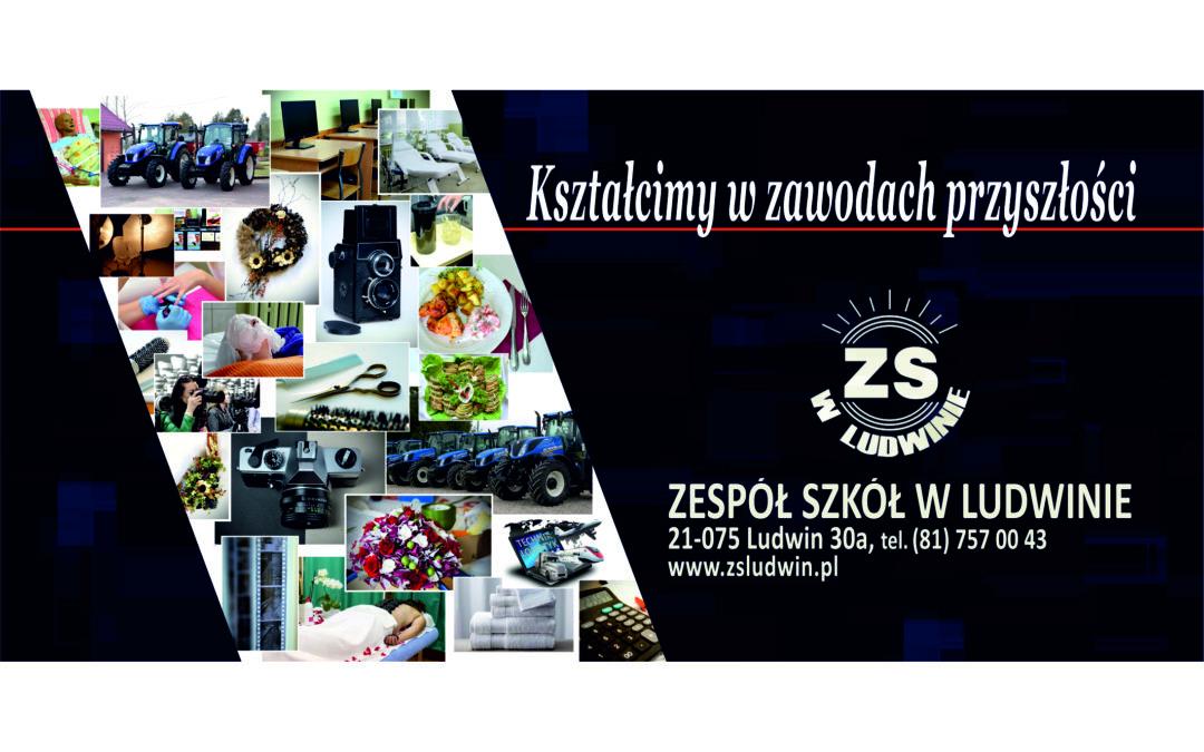 Trwa nabór do Zespołu Szkół w Ludwinie na semestr wiosenny  – nauka od lutego 2020 r.