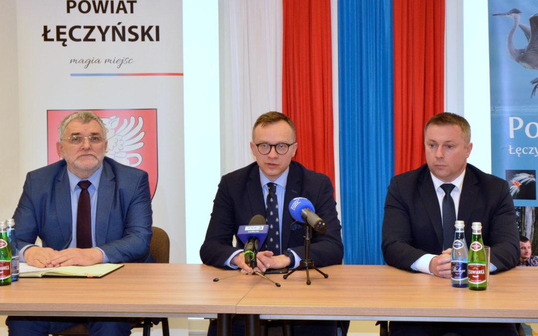 Powiat łęczyński na liście rządowych inwestycji