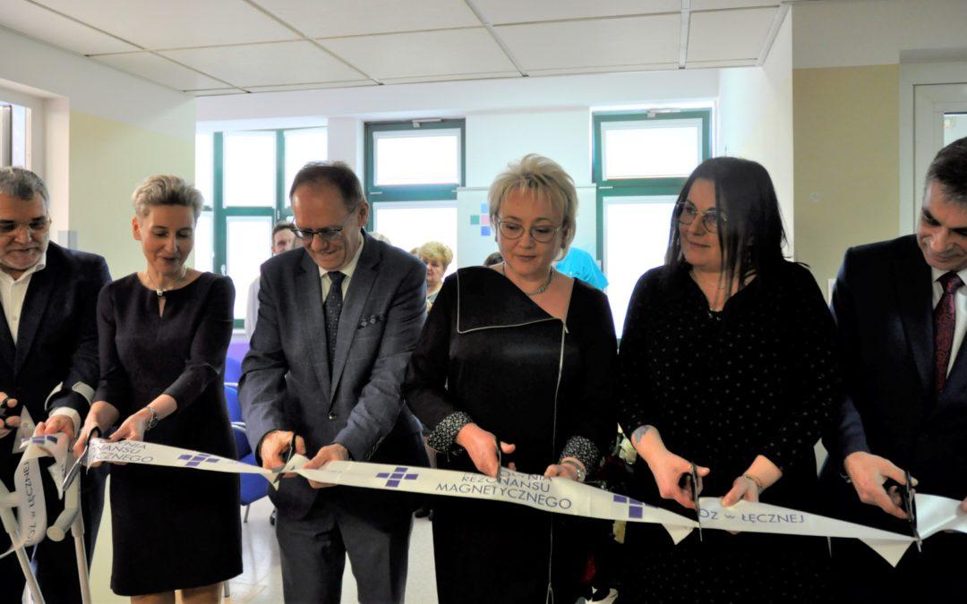 Uroczyste otwarcie Pracowni Rezonansu Magnetycznego w Szpitalu Powiatowym w Łęcznej !