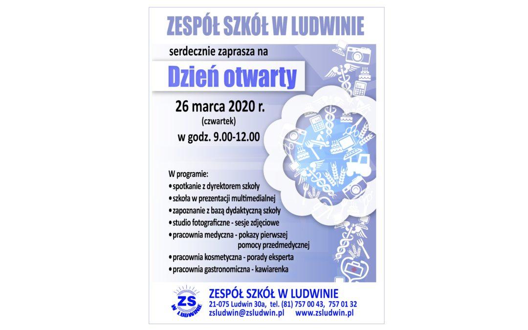 Dzień Otwarty w Zespole Szkół w Ludwinie