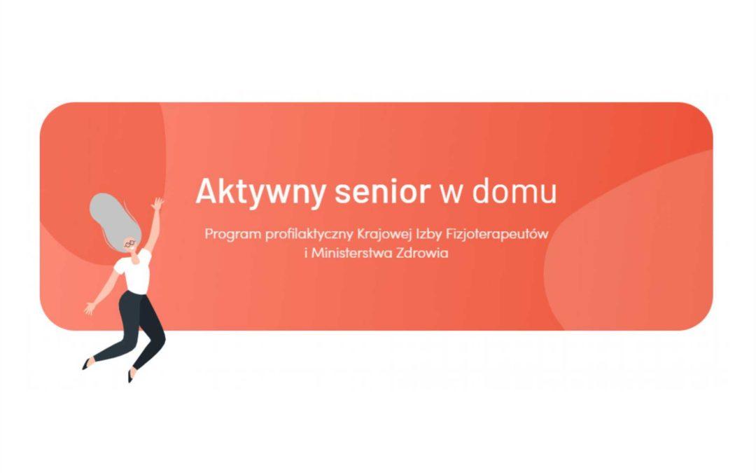 #ZostańWDomu – Aktywny Senior w domu