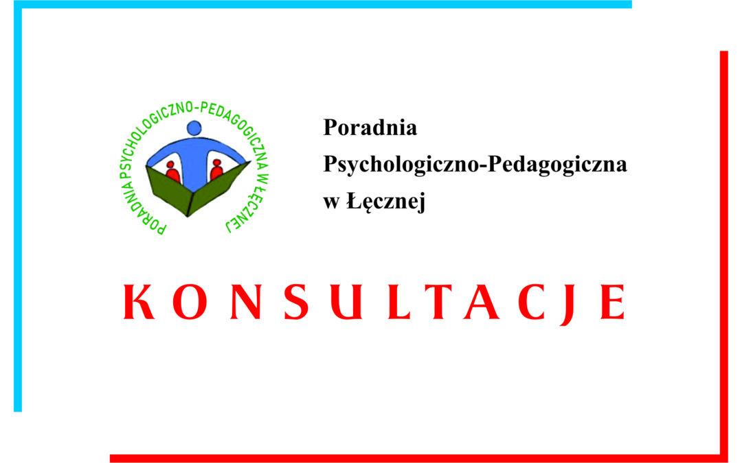 Konsultacje w Poradni Psychologiczno-Pedagogicznej w Łęcznej