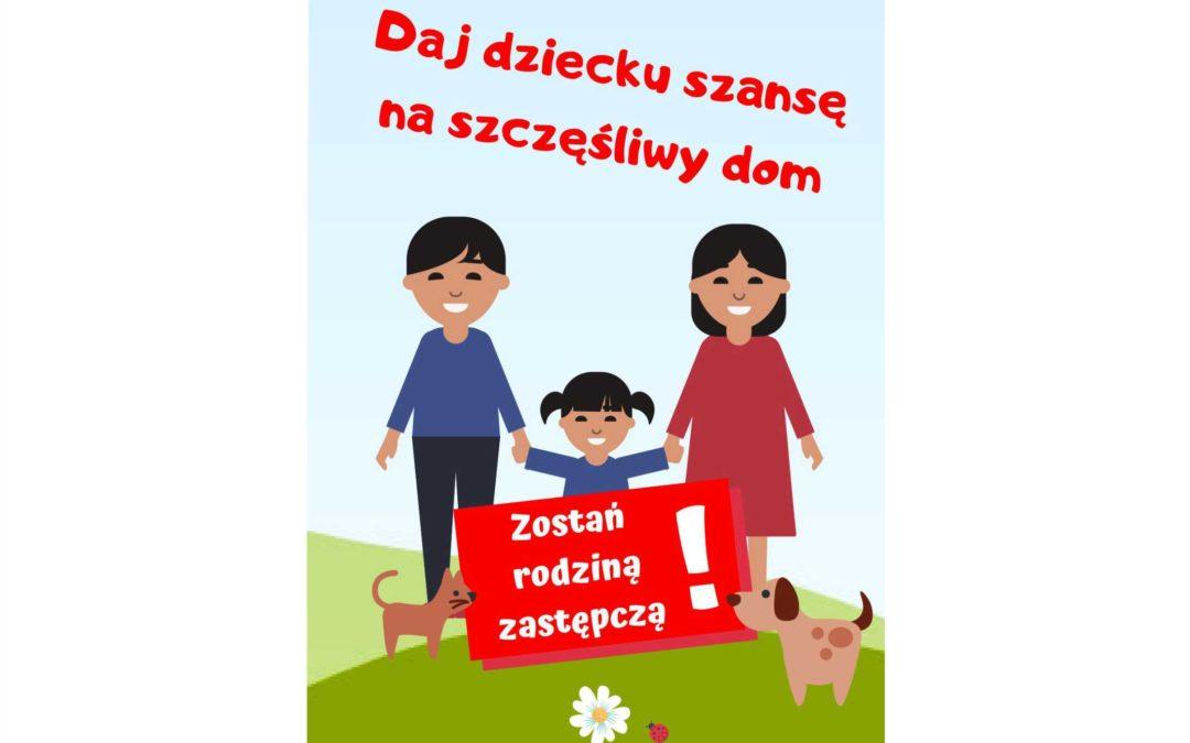 Zostań rodziną zastępczą – daj dziecku szansę na szczęśliwy dom!