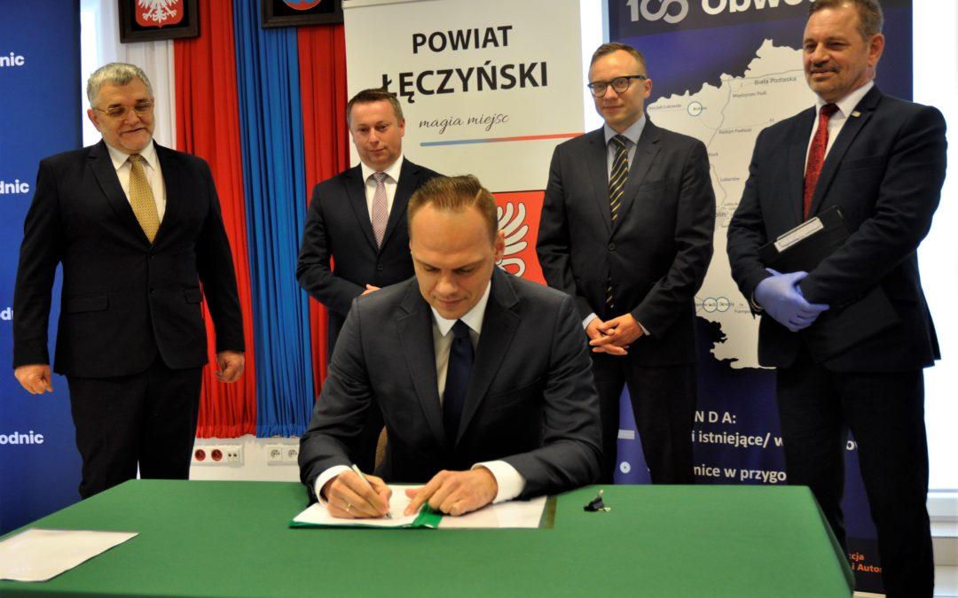 Obwodnica Łęcznej – program inwestycyjny podpisany!