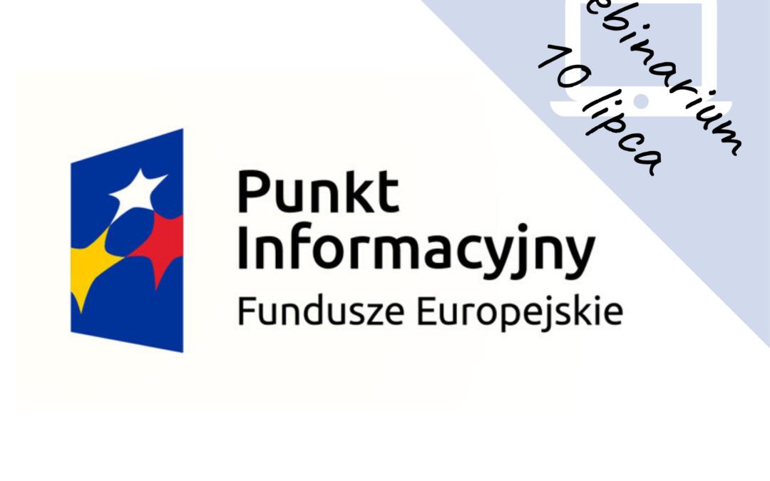 """Webinarium pt. """"Wsparcie na kapitał obrotowy dla mikro i małych firm (w tym samozatrudnionych) w województwie lubelskim"""""""