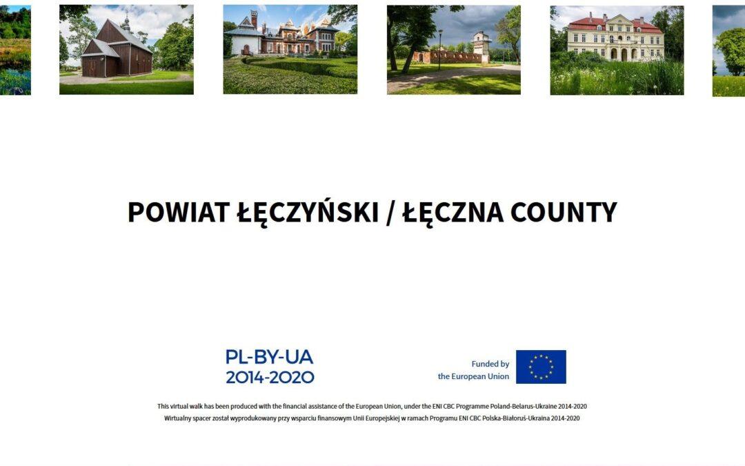 Wirtualny spacer po powiecie łęczyńskim