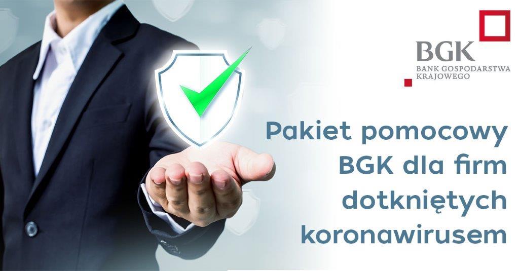 Pakiet pomocowy BGK dla firm dotkniętych koronawirusem