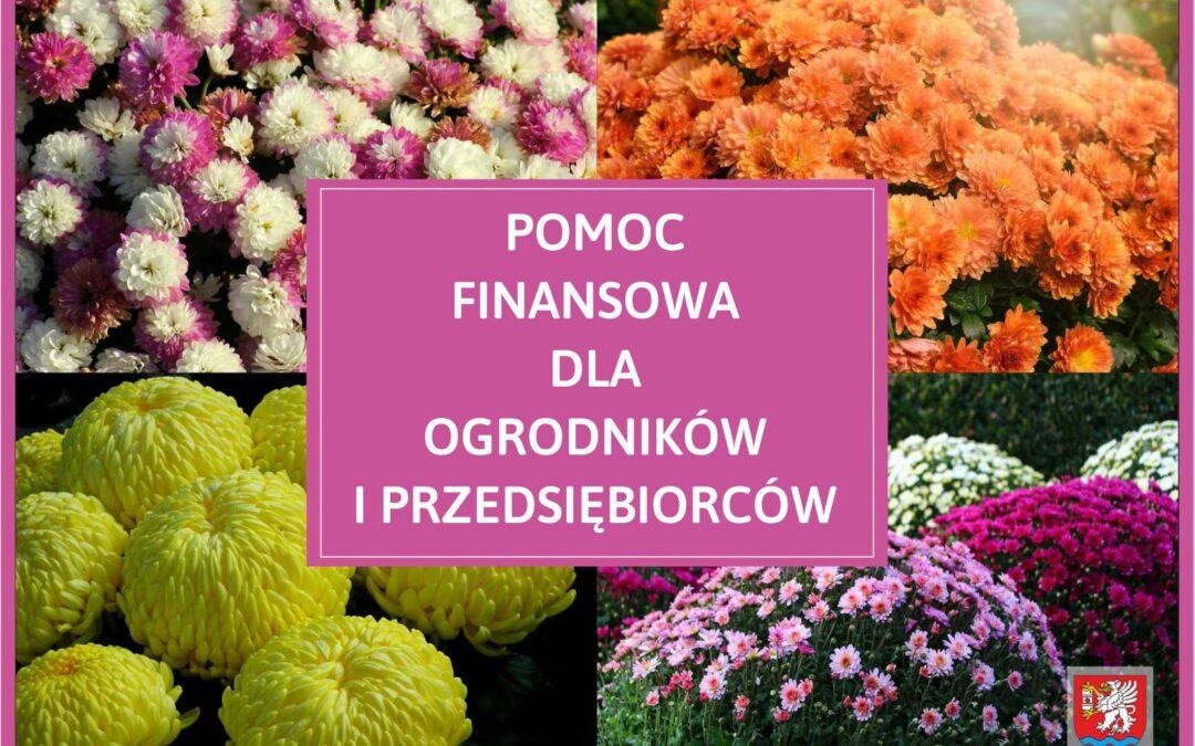 Wsparcie finansowe dla przedsiębiorców i ogrodników