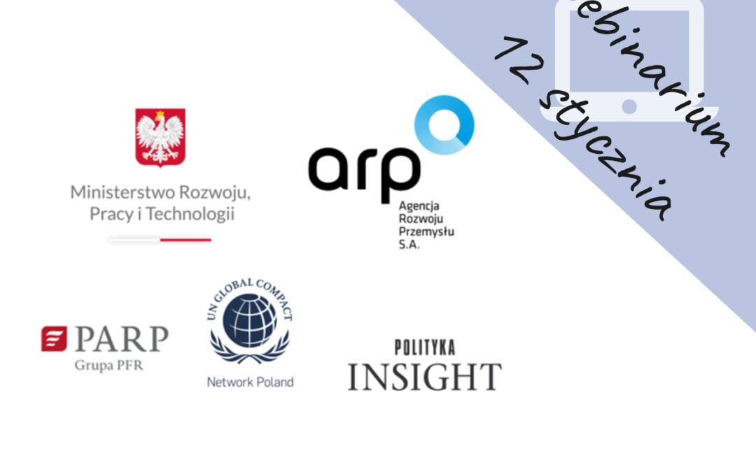 """Webinarium: """"Zamówienia międzynarodowe – szansa na rozszerzenie działalności biznesowej polskich firm"""""""