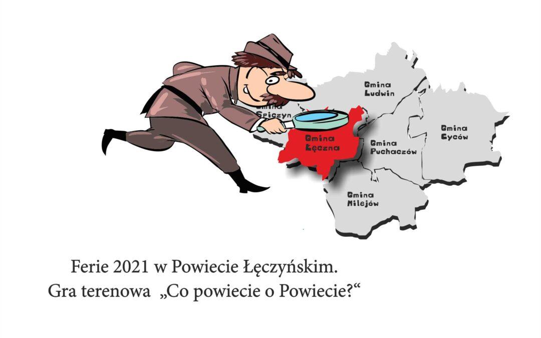 """""""Co powiecie o Powiecie?"""" – rodzinna gra terenowa"""
