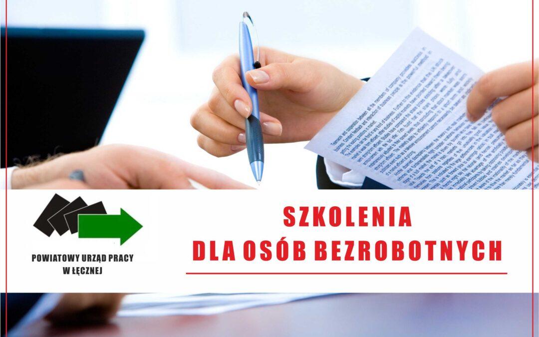 Organizacja i finansowanie szkoleń dla osób bezrobotnych
