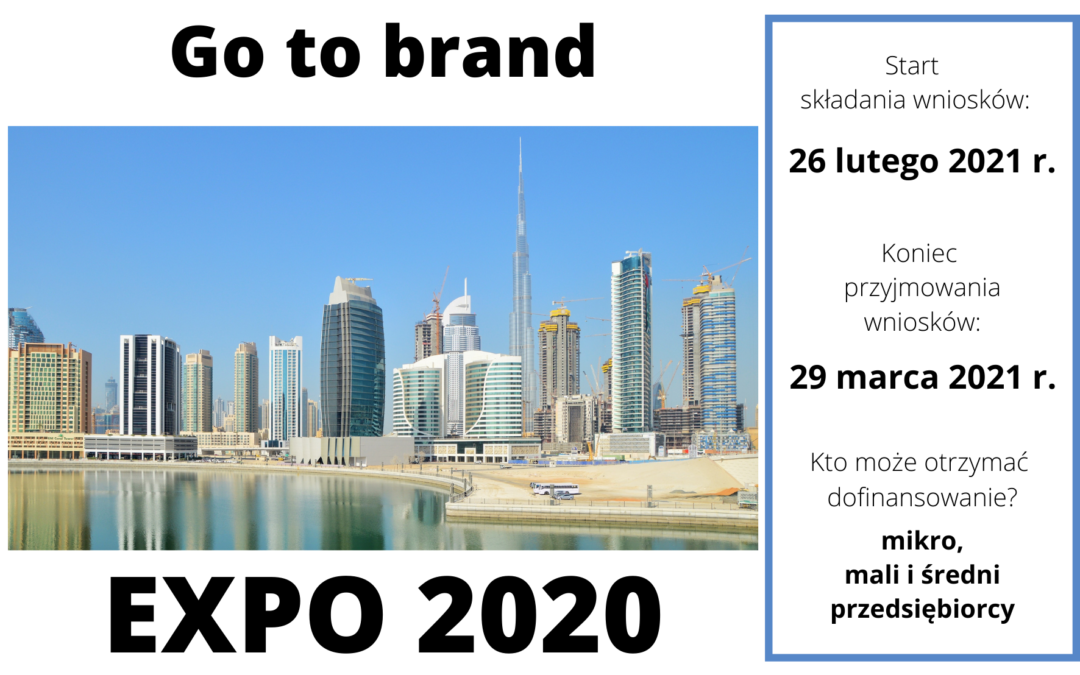 Go to brand – EXPO 2020