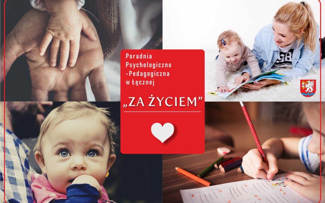 """Program """"Za życiem"""" w Poradni Psychologiczno-Pedagogicznej w Łęcznej"""