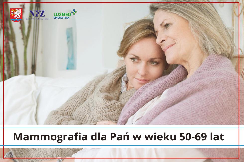 Mammografia dla Pań w wieku 50-69 lat