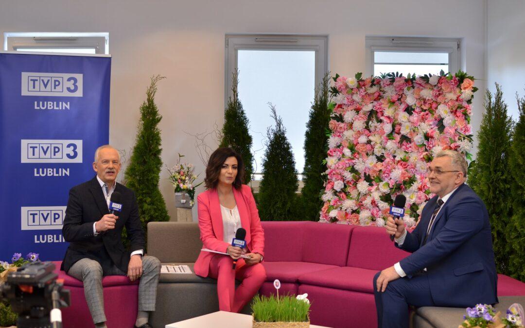 Wiosna z TVP3 Lublin w powiecie łęczyńskim