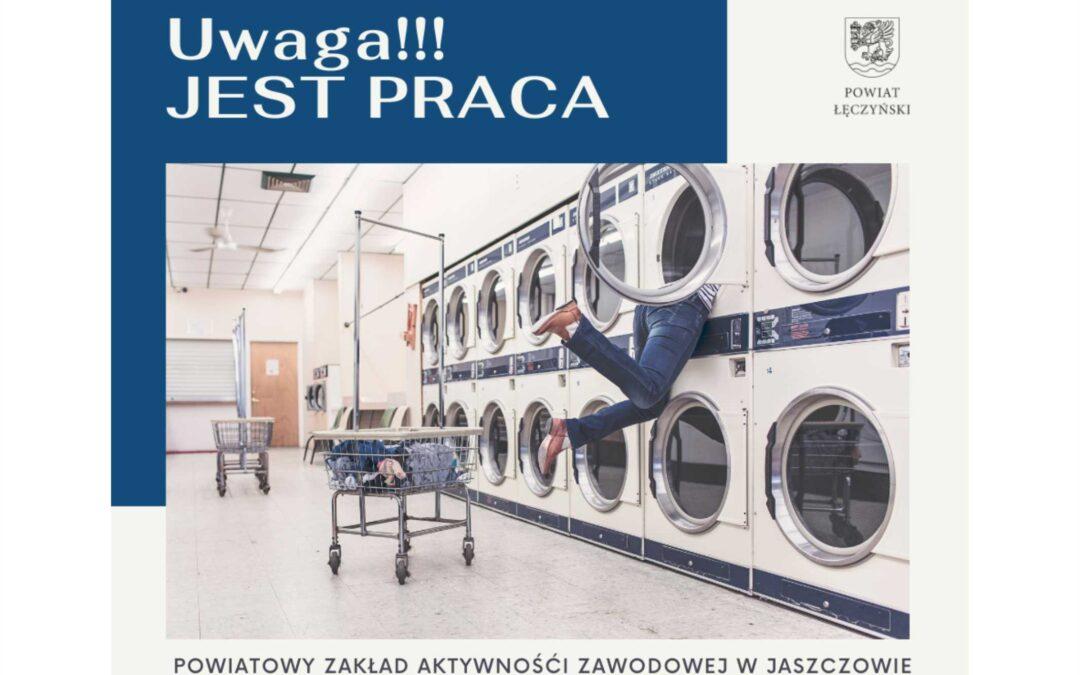 PRACA! Rusza nabór do Powiatowego Zakładu Aktywności Zawodowej w Jaszczowie