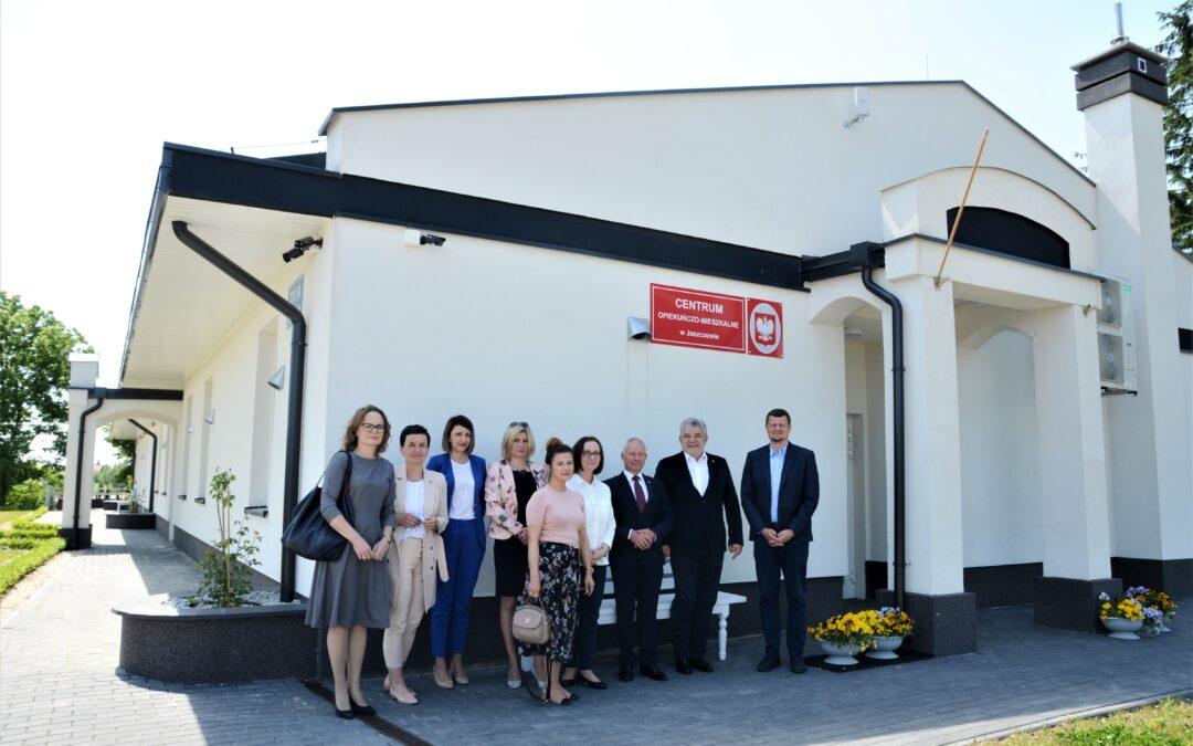 Wizyty studyjne w Centrum Opiekuńczo-Mieszkalnym w Jaszczowie