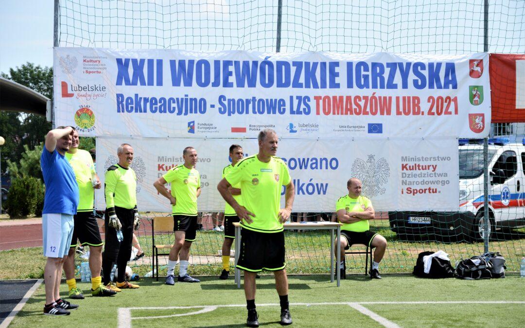 XXII Wojewódzkie Igrzyska Rekreacyjno-Sportowe LZS w Tomaszowie Lubelskim
