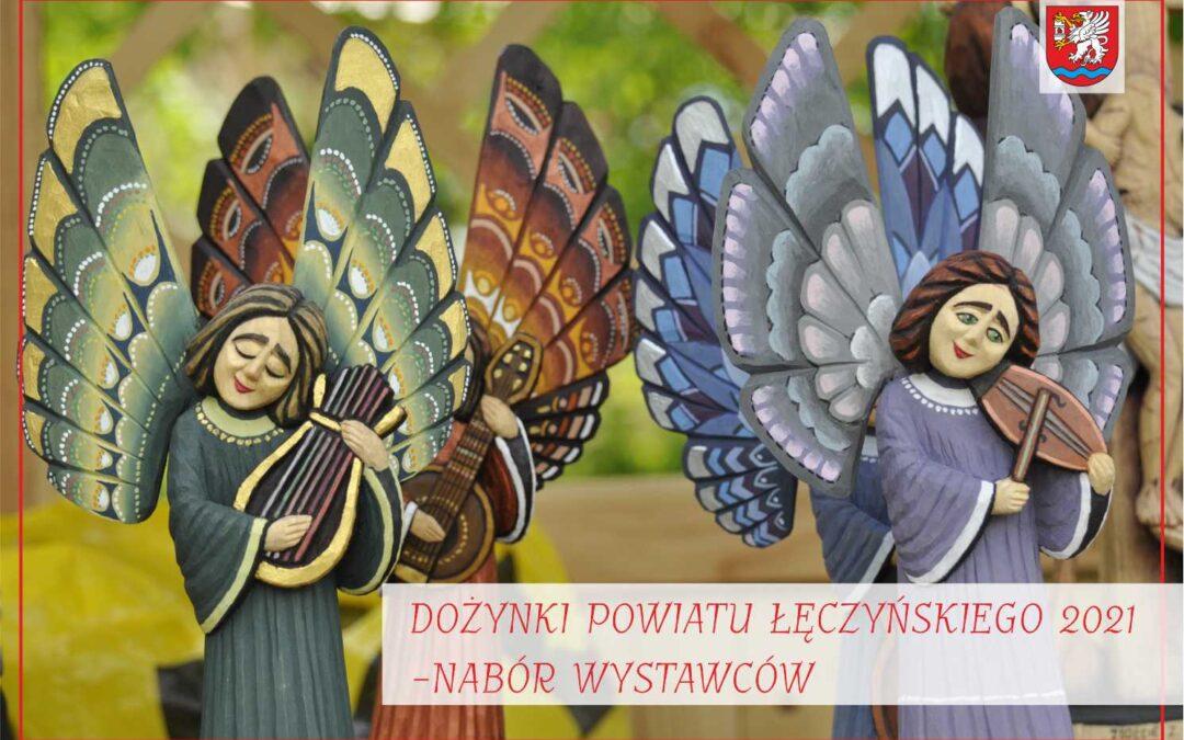 Dożynki  Powiatu Łęczyńskiego 2021 – nabór wystawców