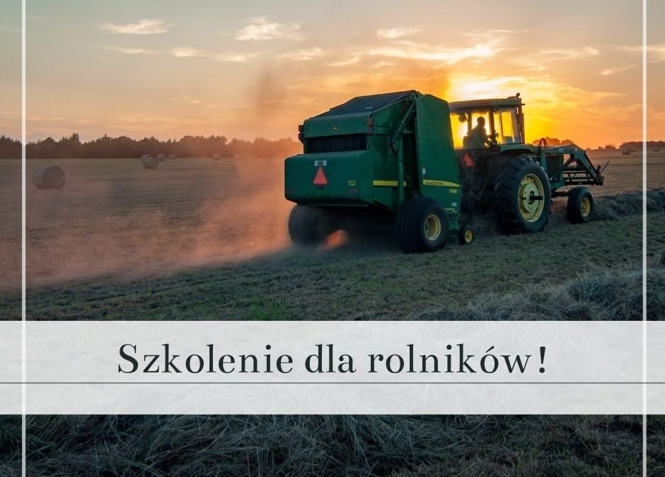 Szkolenia chemizacyjne dla rolników!